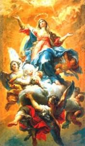Mừng lễ Đức Mẹ Lên Trời